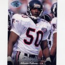 1995 Upper Deck Football Electric Silver #266 Ron George - Atlanta Falcons