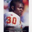 1995 Upper Deck Football Electric Silver #223 Donnell Bennett - Kansas City Chiefs