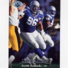 1995 Upper Deck Football Electric Silver #198 Cortez Kennedy - Seattle Seahawks