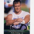 1995 Upper Deck Football Electric Silver #144 Daryl Johnston - Dallas Cowboys