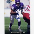 1995 Upper Deck Football Electric Silver #120 Qadry Ismail - Minnesota Vikings