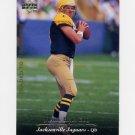 1995 Upper Deck Football #285 Mark Brunell - Jacksonville Jaguars ExMt