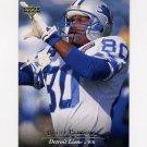 1995 Upper Deck Football #262 Brett Perriman - Detroit Lions