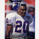 1995 Upper Deck Football #260 Dewayne Washington - Minnesota Vikings