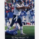 1995 Upper Deck Football #253 Junior Seau - San Diego Chargers