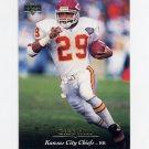 1995 Upper Deck Football #251 Greg Hill - Kansas City Chiefs