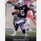1995 Upper Deck Football #224 Rocket Ismail - Oakland Raiders