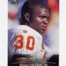 1995 Upper Deck Football #223 Donnell Bennett - Kansas City Chiefs