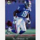 1995 Upper Deck Football #201 Thomas Lewis - New York Giants