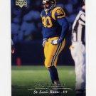 1995 Upper Deck Football #183 Sean Gilbert - St. Louis Rams