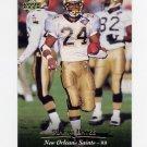 1995 Upper Deck Football #181 Mario Bates - New Orleans Saints