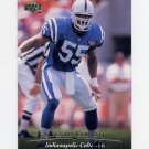 1995 Upper Deck Football #158 Quentin Coryatt - Indianapolis Colts