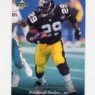 1995 Upper Deck Football #137 Barry Foster - Carolina Panthers