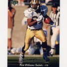 1995 Upper Deck Football #125 Tyrone Hughes - New Orleans Saints