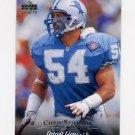 1995 Upper Deck Football #122 Chris Spielman - Detroit Lions