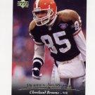 1995 Upper Deck Football #079 Derrick Alexander - Cleveland Browns