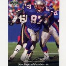 1995 Upper Deck Football #076 Ben Coates - New England Patriots