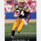 1995 Upper Deck Football #067 Edgar Bennett - Green Bay Packers