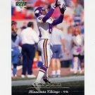 1995 Upper Deck Football #064 Cris Carter - Minnesota Vikings