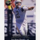 1995 Upper Deck Football #057 Stan Humphries - San Diego Chargers