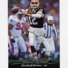 1995 Upper Deck Football #051 Vinny Testaverde - Cleveland Browns