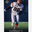 1995 Upper Deck Football #050 Carl Pickens - Cincinnati Bengals