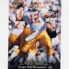 1995 Upper Deck Football #040 Trent Dilfer - Tampa Bay Buccaneers