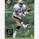 1995 Upper Deck Football #023 Ray Zellars RC - New Orleans Saints