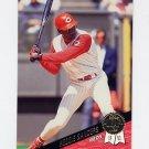 1993 Leaf Baseball #428 Reggie Sanders - Cincinnati Reds