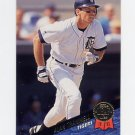1993 Leaf Baseball #421 Alan Trammell - Detroit Tigers