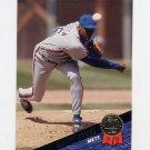 1993 Leaf Baseball #203 Dwight Gooden - New York Mets