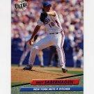 1992 Ultra Baseball #537 Bret Saberhagen - New York Mets