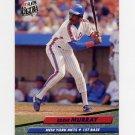 1992 Ultra Baseball #532 Eddie Murray - New York Mets