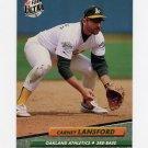 1992 Ultra Baseball #423 Carney Lansford - Oakland A's