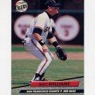 1992 Ultra Baseball #296 Matt Williams - San Francisco Giants