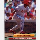 1992 Ultra Baseball #265 Ray Lankford - St. Louis Cardinals