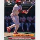 1992 Ultra Baseball #263 Pedro Guerrero - St. Louis Cardinals
