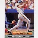 1992 Ultra Baseball #262 Andy Van Slyke - Pittsburgh Pirates
