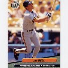 1992 Ultra Baseball #250 Jay Bell - Pittsburgh Pirates