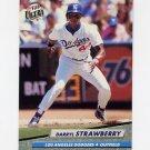 1992 Ultra Baseball #219 Darryl Strawberry - Los Angeles Dodgers