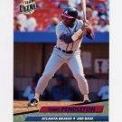 1992 Ultra Baseball #167 Terry Pendleton - Atlanta Braves