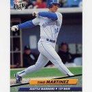 1992 Ultra Baseball #127 Tino Martinez - Seattle Mariners