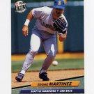 1992 Ultra Baseball #126 Edgar Martinez - Seattle Mariners