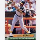 1992 Ultra Baseball #109 Harold Baines - Oakland A's