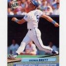 1992 Ultra Baseball #068 George Brett - Kansas City Royals