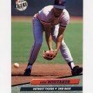 1992 Ultra Baseball #065 Lou Whitaker - Detroit Tigers