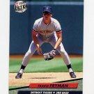 1992 Ultra Baseball #060 Travis Fryman - Detroit Tigers