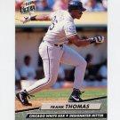 1992 Ultra Baseball #044 Frank Thomas - Chicago White Sox
