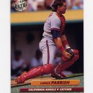 1992 Ultra Baseball #028 Lance Parrish - California Angels