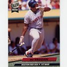 1992 Ultra Baseball #023 Mo Vaughn - Boston Red Sox